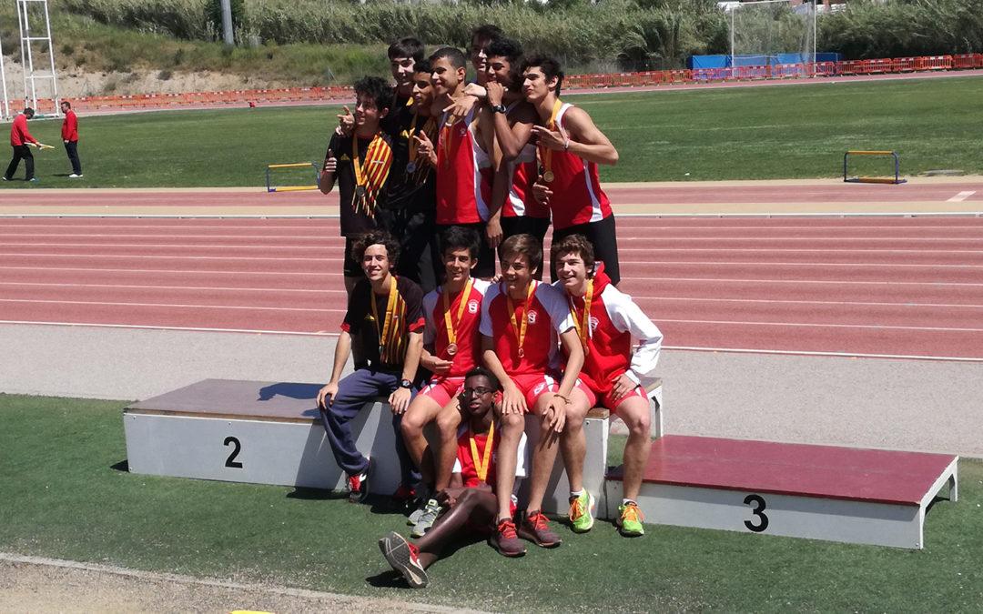 Sis cadets en els Campionats d'Espanya