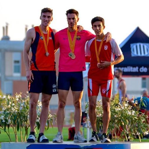 Roger Pons bronze en el Cnat. de Catalunya Absolut